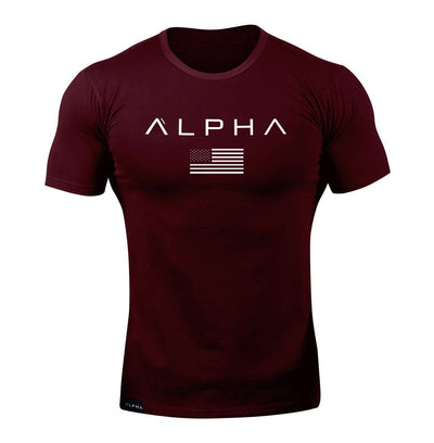 Alpha Flag Athleti-Fit™ Tee - Forge