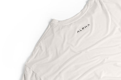 Bamboo Oversized Tee - Off White