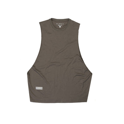 taupe colored tank top