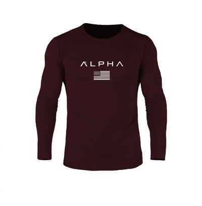 Alpha Flag Athleti-Fit™ LS - Forge