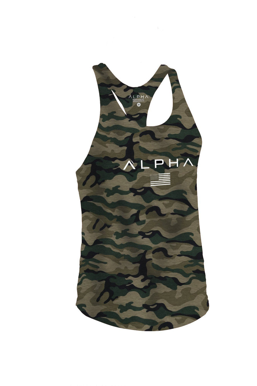 The Alpha Flag - Feather-Fit™ Stringer - Camo