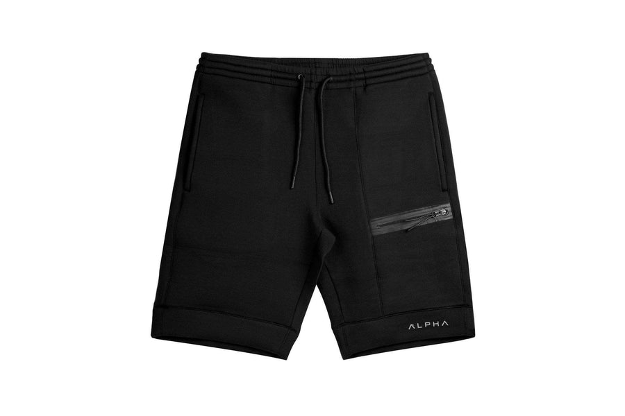 LiteFleece™ Jogger Shorts - Stealth