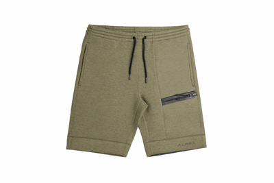 LiteFleece™ Jogger Shorts - Faded Military