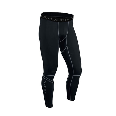 Performance Compression Pants - Reflective