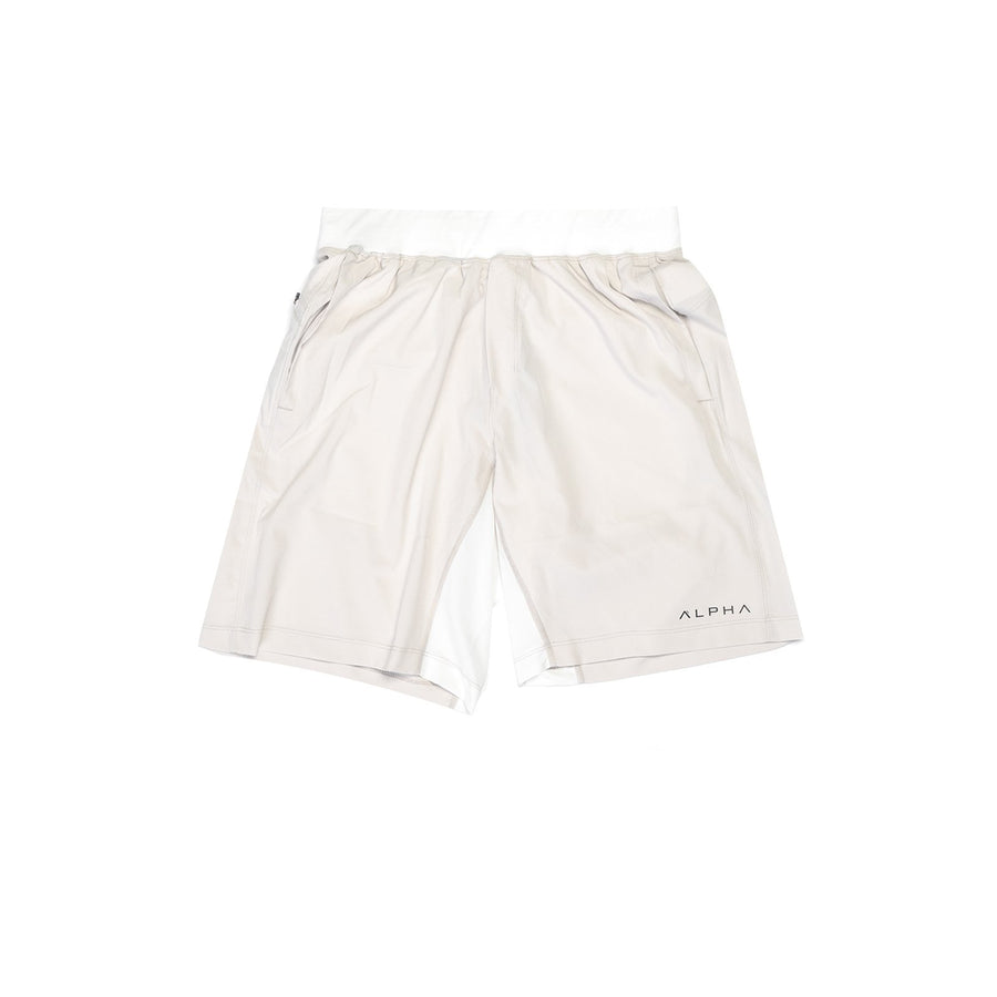 "Adaptive Performance Short - 9"" - Off White"