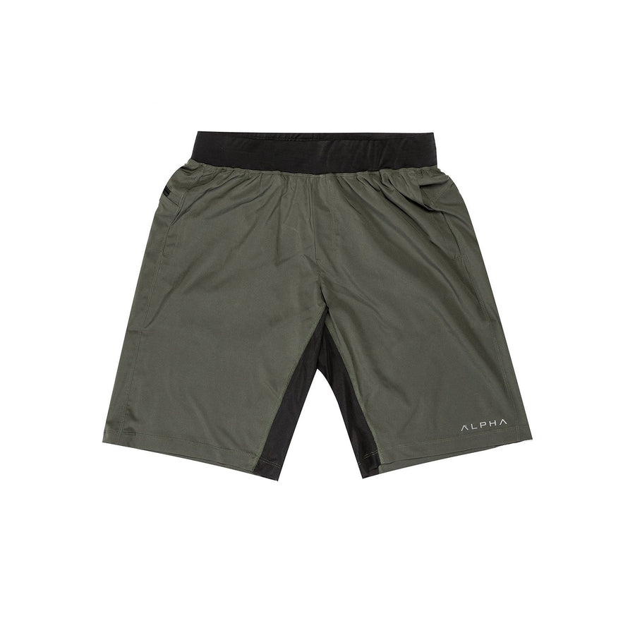 gray athletic shorts