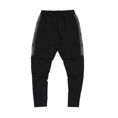 Striped Track Pant - Black/Charcoal