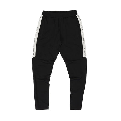 Striped Track Pant - Black/Off White