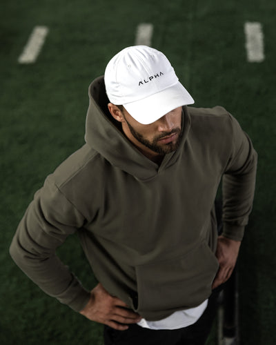 Grounded Performance Hoodie - Olive