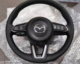 Mazda Skyactiv OEM Leather Steering Wheel Replacement