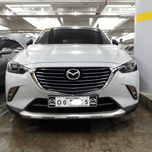 CX3 Front + Rear bumper stainless silver protection