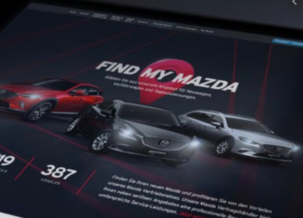 Mazda Skyactiv 'Find My Car' feature activation