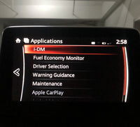 Mazda Intelligent Drive Master (i-DM) activation with Driver's Selection