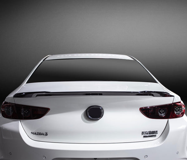 Mazda 3 2020 Sedan Ducktail Spoiler
