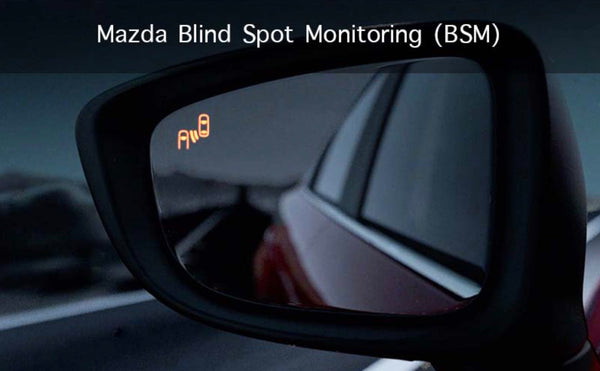 Mazda 3 Blind Spot Monitoring with Rear Cross Traffic Alert kit