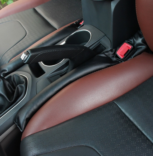 Seat gap leather cushion filler
