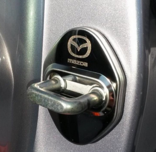 Door lock hinge cover for Mazda 3