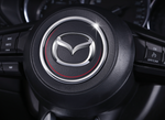 Steering wheel circle trim for Mazda 3