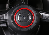 Steering wheel circle trim for Mazda 3 17-19