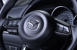 Steering side side button trim for Mazda 3