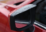 Side mirror visor carbon fiber design Mazda 2, 3 ,6