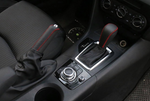 Shift stick and handbrake leather cover for Mazda Skyactiv
