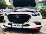 Soul red grill line for Mazda 3