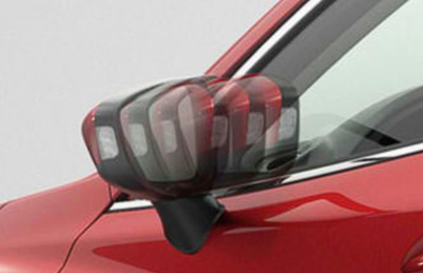 Side mirror auto fold module kit for Mazda