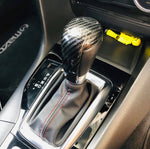Carbon fiber shift stick cover for Mazda Skyactiv