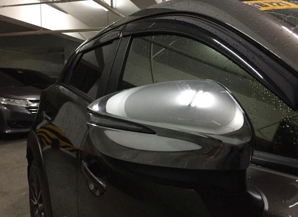 CX3 side mirror cover chrome / carbon fiber