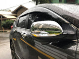 CRV side mirror full cover chrome carbon fiber