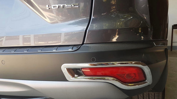 CRV Rear fog chrome trim