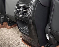 CRV Rear AC panel Carbon Fiber / Wood with USB port