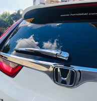 CRV rear wiper chrome cover
