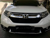CRV lower bumper chrome protection