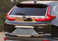 CRV rear trunk lid chrome