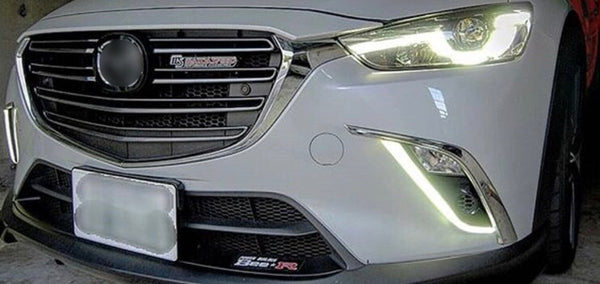 CX3 Front fog DRL + Turn signal LED
