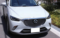 CX3 front hood chrome