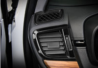 CRV stainless titanium black interior trims