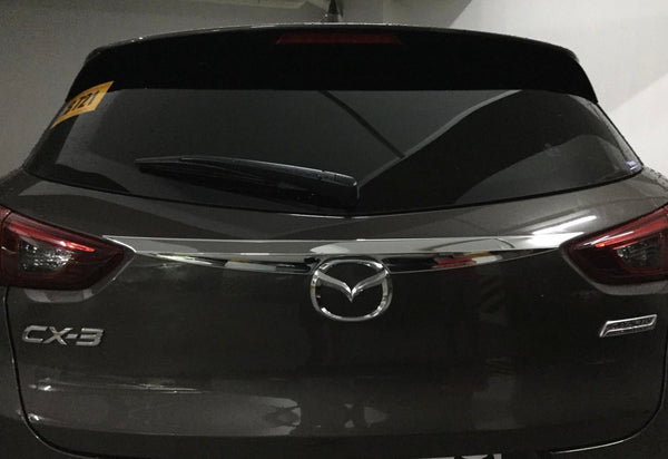 CX3 Rear trunk chrome