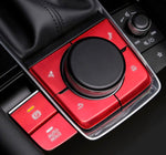 Mazda 3 2020 E-parking brake and Infotainment button red trim