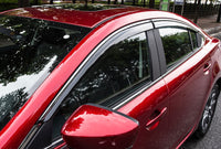 Mazda 6 2020 door visor with chrome lining
