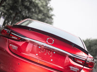 Mazda 6 2020 ducktail spoiler v2 with paint