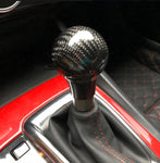 Carbon Fiber Shift Knob Replacement For Mazda 2 3 6 CX3 CX5 CX9