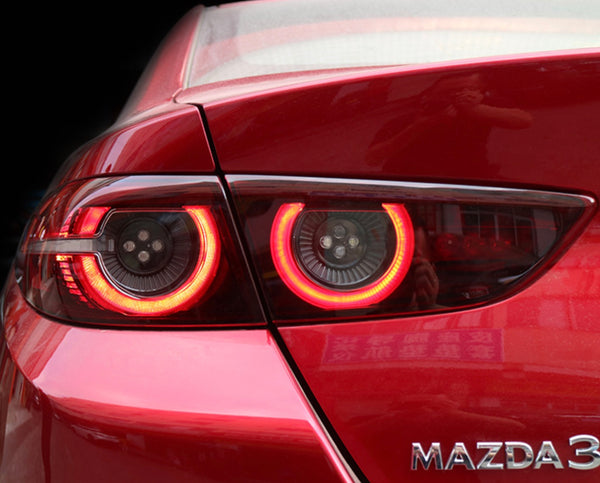 Mazda 3 2020 sedan full LED tail lights assembly replacement