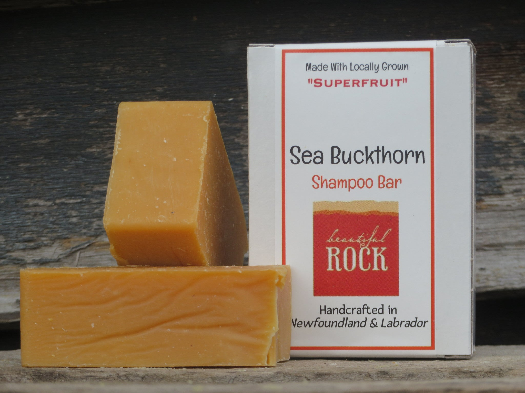 Sea Buckthorn Shampoo Bar