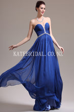 Beading Illusion Strapless Sleeveless Floor-Length Solid Ruched Chiffon Evening Dress