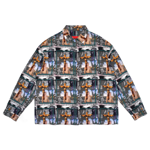 CRUCIFY BUTTON UP SHIRT
