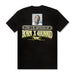 LARRY H PARKER TEE: BLACK