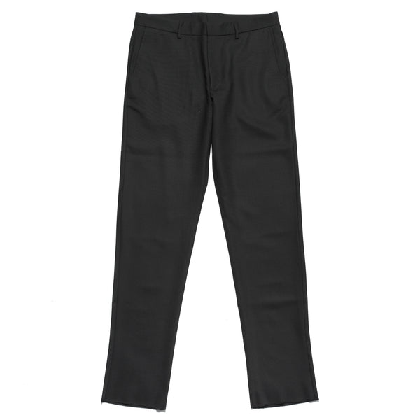 BXR/424 PLEATED SLACKS: BLACK